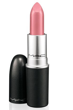 "Mac Matte ""Please Me"" lip color, gorgeous blue tone pink perfect for bridal lips to tone down dramatic eyes"