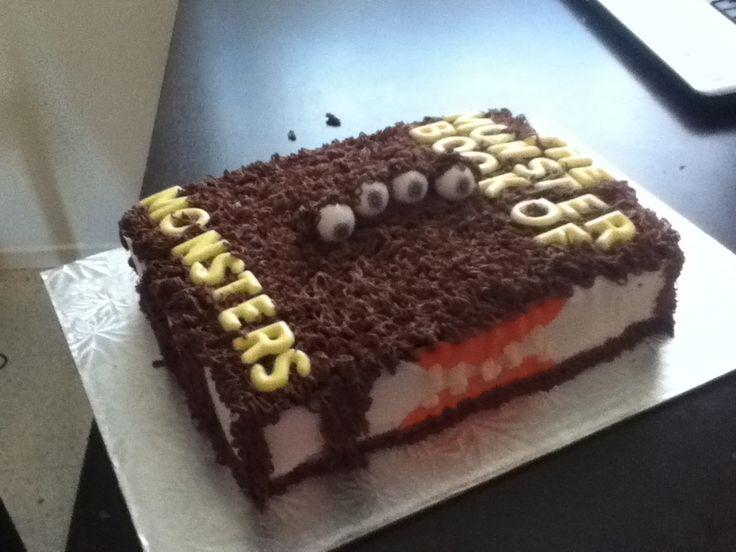 Harry Potter Monster Book Of Monsters Cake All