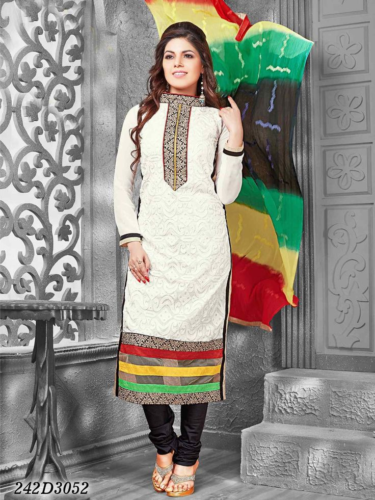 Salwar Kameez / New Designer Bollywood Chanderi Salwar Suit