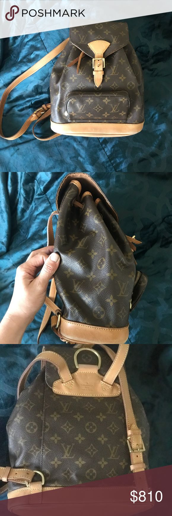 Louis Vuitton monogram backpack mm Used in excellent condition 💯 authentic Louis Vuitton Bags Backpacks