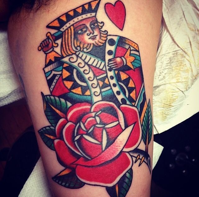 best 25 queen of hearts tattoo ideas on pinterest tattoos of hearts queen tattoo and king. Black Bedroom Furniture Sets. Home Design Ideas