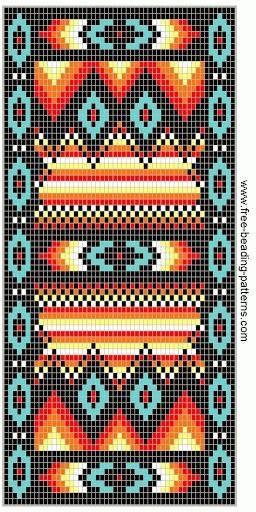 #Free beading pattern
