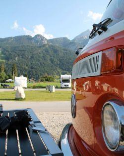 bulliundclyde:  Ein Bild von unserem Camping platz vor der Zugspitze.  An image from our camping place in front of the Zugspitze. (hier: Camping Resort Zugspitze)