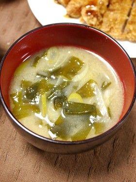 だれでも簡単!基本の葱とわかめの味噌汁 by だんどり亭 [クックパッド] 簡単おいしいみんなのレシピが259万品