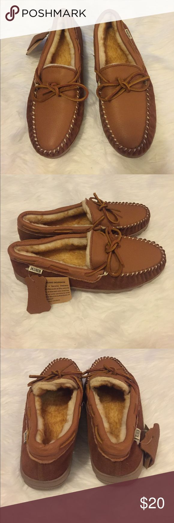 14th & Union Men's Moccasin Slippers 14th & Union Men's Moccasins Slippers. Size: 9. New with tags. 14th & Union Shoes
