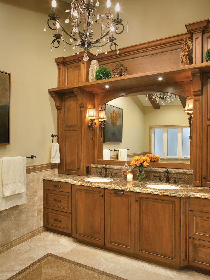 Nice Romantic Bathroom Lighting Ideas