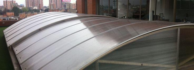 Acrlicos Alfa cubierta corrediza en policarbonato
