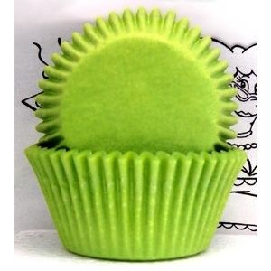 Goldas Kitchen Baking Cups - Solid - Lime - Standard Golda's Kitchen