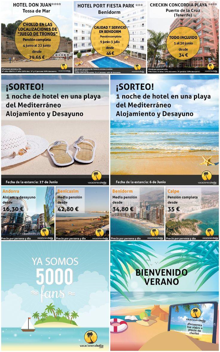 Vacaciones Chollo | Grupo Zeumat | Grupo Zeumat #zeumat #grupozeumat #zesis #redessociales #redscoail #rrss# agencia #communitymanager