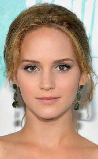 Jennifer Lawrence and Emma Watson morphed together to make an amazing person, you can see both JLaw and Em in the picture