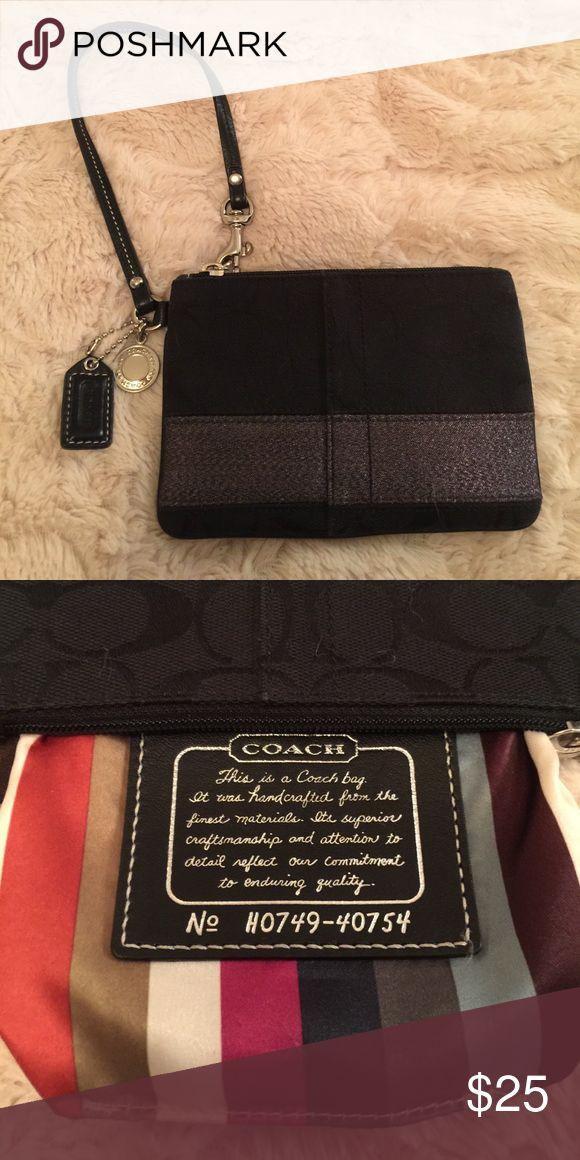 Coach Legacy Wristlet Coach wristlet in excellent condition. Coach Bags Clutches & Wristlets #Wristlets