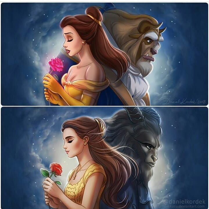 Beauty and the Beast...by @danielkordek