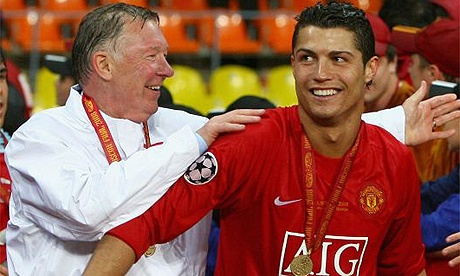 The pair had such a great relationship whilst CR7 was at United. Fergie really invested in a top talent when he purchased Ronny from Sporting Lisbon as a youngster. No one could have predicted how good a player he would become.