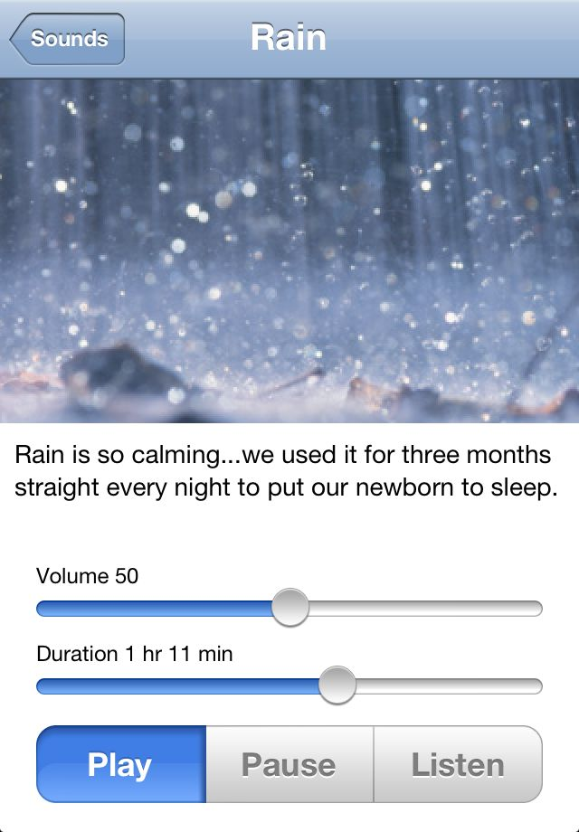 """Sound Sleeper is a white noise app for newborns and infants. It includes a variety of calming sounds as well as the unique """"Listen"""" mode, which """"listens"""" for your baby and starts playing the sound you've chosen, automatically – the instant he begins to cry. This simple and easy-to-use – and very effective – app was first created by a young couple for their own baby, and has now become one of the most popular baby white noise apps available. 5 Winners will receive the full version of this…"""