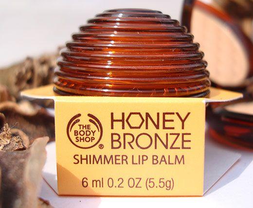 The Body Shop Honey Bronze Shimmer Lip Balm