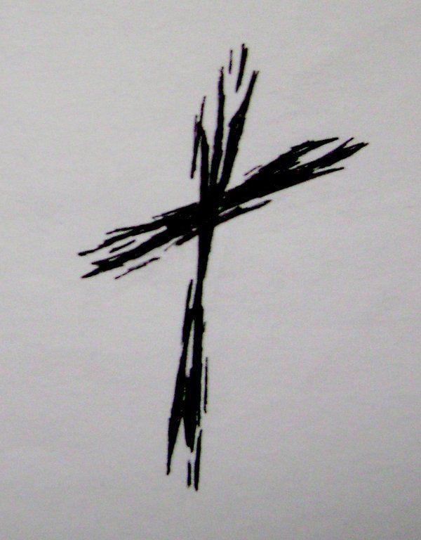 Rough Cross Tattoo by ~typowilliams on deviantART