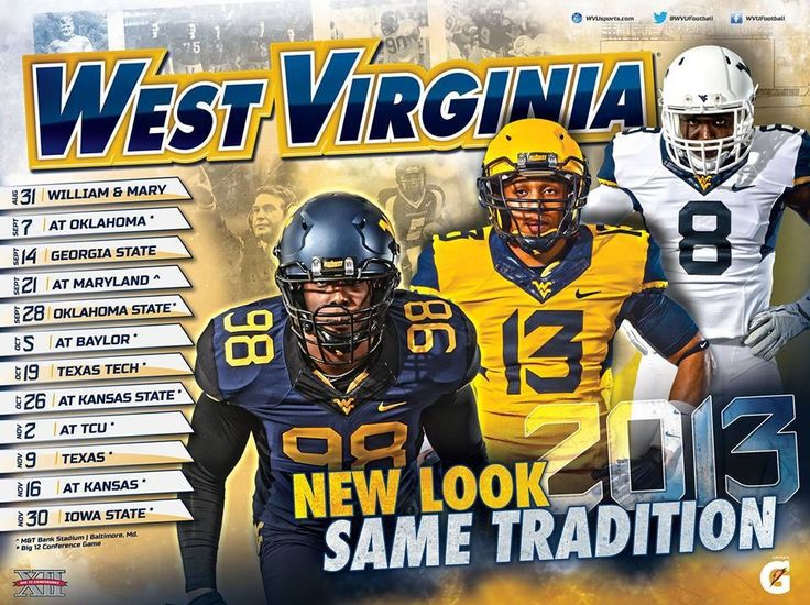 Ready for some WVU football