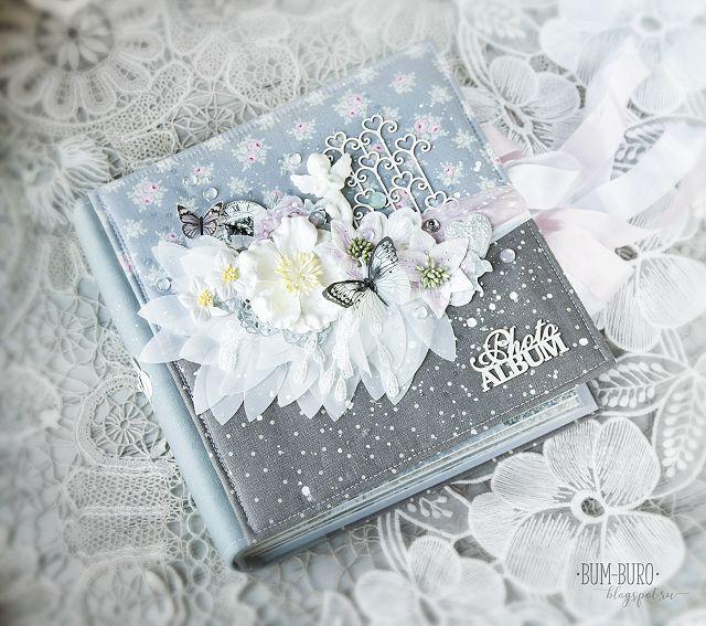 """Фабрика 212: Свадебный альбом из коллекции """"Shabby Wedding"""""""