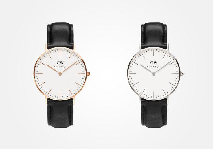 Daniel Wellington women strap watches / Daniel Wellington – dámské náramkové hodinky #watches #hodinky #elegant #elegantni #naramkove #leatherstrap #danielwellington
