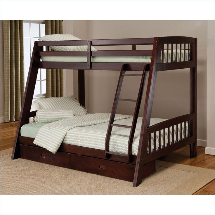 Best 25 Twin Full Bunk Bed Ideas On Pinterest: 25+ Best Ideas About Cheap Bunk Beds On Pinterest