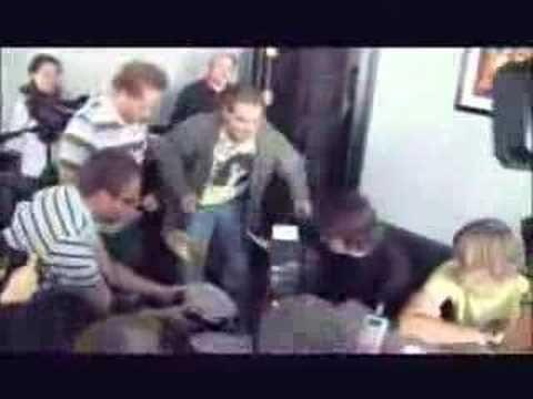 "Dave Grohl drumming on a kids drum set  Dave: ""im afraid i might kinda break something though"" xD"