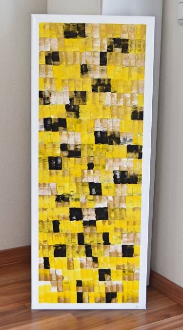 "Saatchi Art Artist Astrid Stoeppel; Painting, ""Colors like Klimt's Kiss!"" #art"
