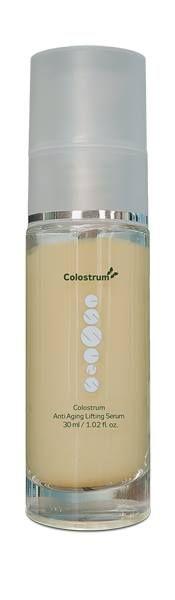 Obličejové sérum s přírodní látkou colostrum, kyselinou hyaluronovou a patentovaným přípravkem Dermotenseur, který má zpevňující účinek na pokožku, podporuje tvorbu nových kolagenových a elastických vláken a tonizuje pleť. Pokožka je po nanesení séra měkčí a získává přirozený vzhled - http://www.essens-club.cz/colostrum-denni-serum-s-kyselinou-hyaluronovou.html - Anti aging lifting serum - Essens clolostrum Plus - www.essensworld.com - Essens ID: 1010002981