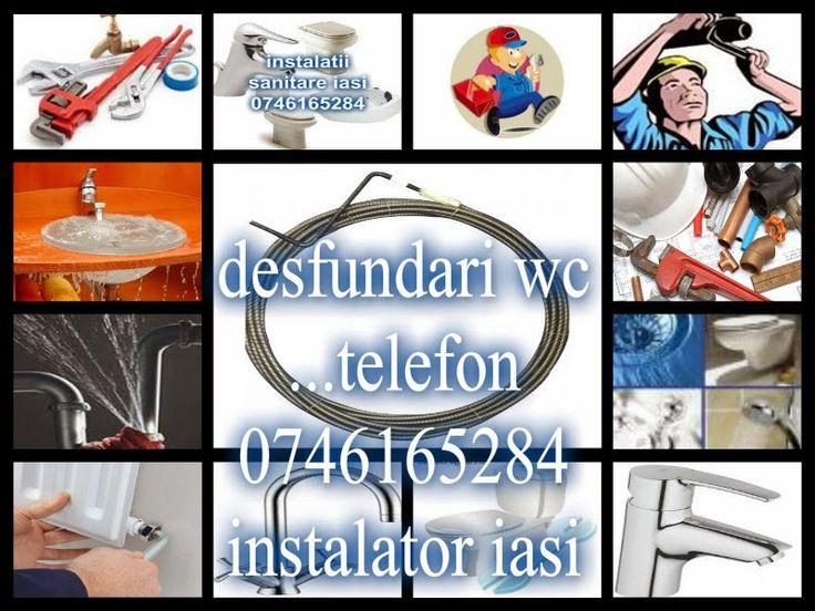 instalatori sanitari iasi 0746165284: Desfundari urgente wc iasi
