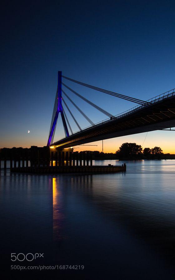 Die neue Rheinbrücke von Wesel by webmaster222 #architecture #building #architexture #city #buildings #skyscraper #urban #design #minimal #cities #town #street #art #arts #architecturelovers #abstract #photooftheday #amazing #picoftheday