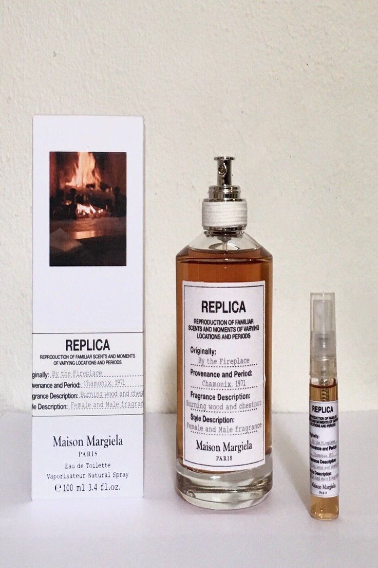13 99 Maison Martin Margiela Replica By The Fireplace 5ml