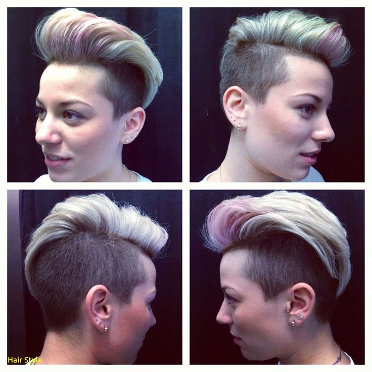Luxury short hairstyle on trend