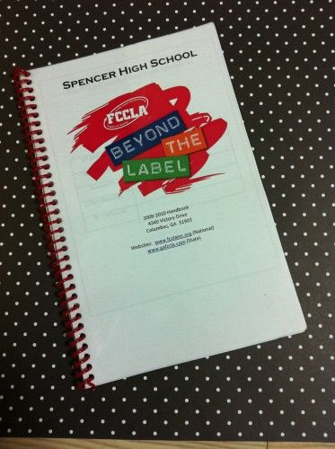 Due to many requests, here is an updated copy of my FCCLA member handbook…