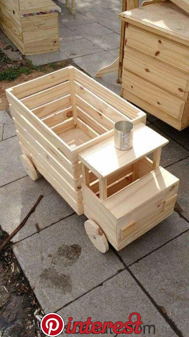LKW-Spielzeugkiste   Truck toy box LKW-Spielzeugkiste – diygardendesing
