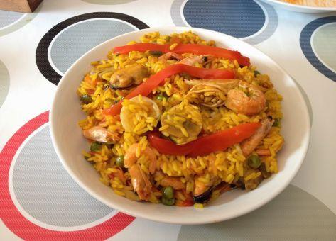 Esta es la Variante Chilena del Arroz a la Valenciana, una deliciosa receta de origen Español.