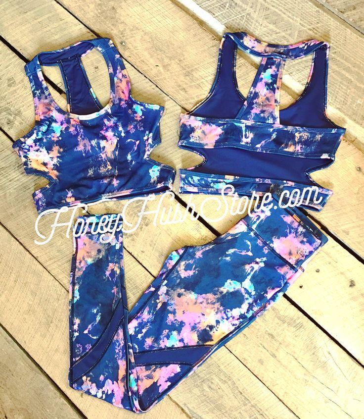 Workout Gear- Tie-Dye Leggings