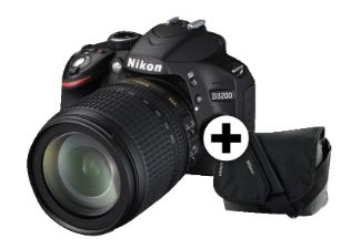 NIKON D3200 KIT 18-105VR Black