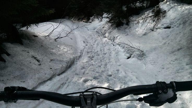 #mtb #enduro #snowride