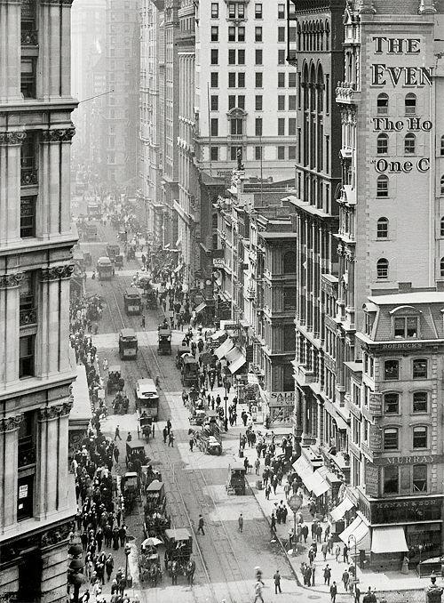 NYC. Manhattan 1910