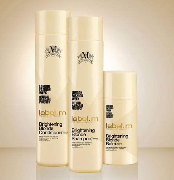 No one likes a brassy blonde, but some brightening treatments can be damaging to our locks.Thankfully the professionals at label m. have listened to our prayers and created a brand new product...