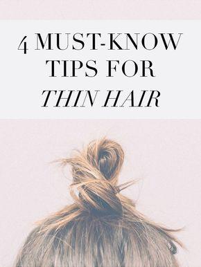 Thin Hair Tips & Tricks – Holly Habeck