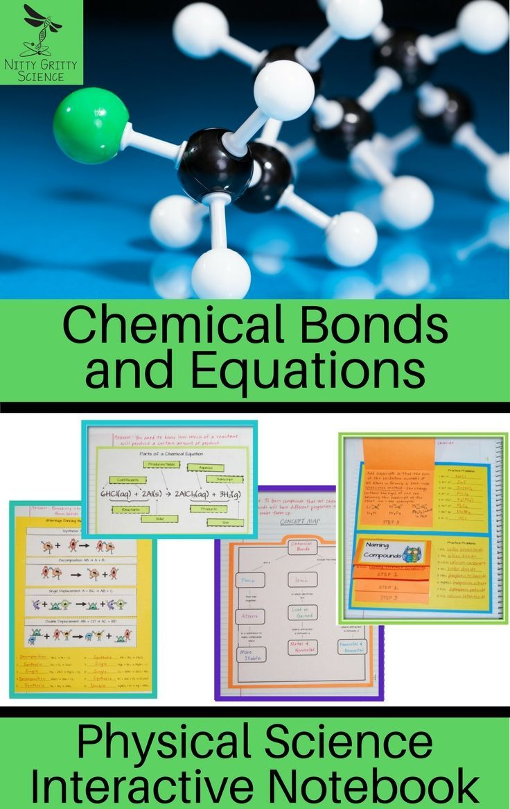 an analysis of the types of chemical bonds and reactions Types of chemical bonds including covalent, ionic, and hydrogen bonds and   oxygen is a much more electronegative atom than hydrogen, meaning that it.