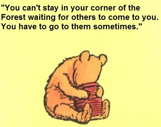 Why managing stress is important -a PDF that features Winnie the Pooh