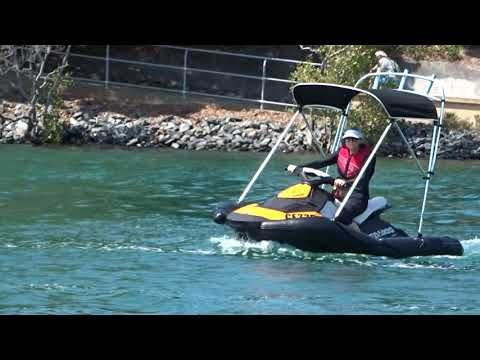 PWC jet ski stabilizer RIB kit and PWC jet ski boat RIB