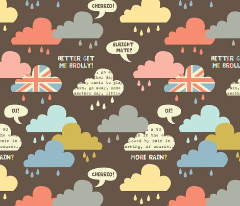 rainy london clouds  fabric by amel24 on Spoonflower - custom fabricIphone Wallpapers, Orange Dreams, London Art, Art Prints, Rainy London, Oakley Sunglasses, Fabrics, Shiny Orange, London Clouds