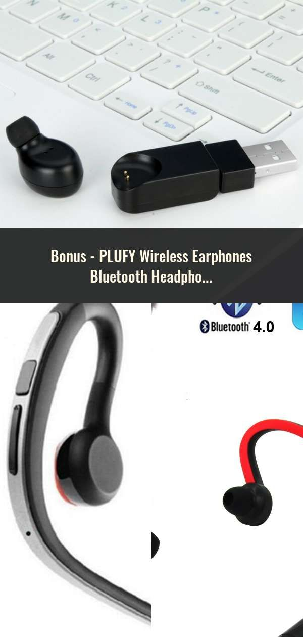 81d41c9d7e6 PLUFY Wireless Earphones Bluetooth Headphone Sport Running Auriculares  Inalambrico Waterproof Headset Music Ecouteur Audifonos