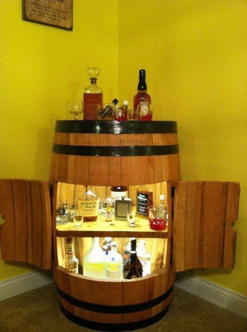 Best 25 Whiskey Barrel Bar Ideas On Pinterest Barn