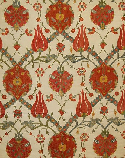 Suzanis are very colorful, elaborately embroidered silk wall hangings or bed coverings that originated in central Asia, primarily what is now Uzbekistan.