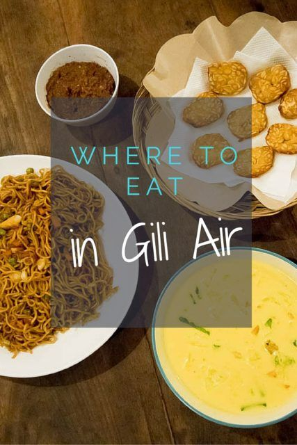 Dining Gili Air: We make real Indonesian food at the Gili Air Cooking Class, and share some of our favourite restaurants on the island.