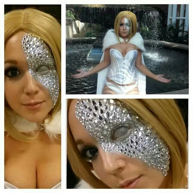 Awesome Emma Frost costume!