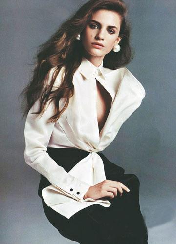 Gianfranco  Ferre's.....perfect  white  tailored shirt ...  Classic !!!!